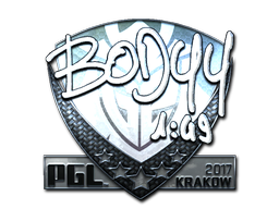Sticker | bodyy (Foil) | Krakow 2017