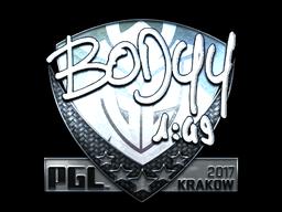 Sticker | bodyy (Foil) | Krakow 2017