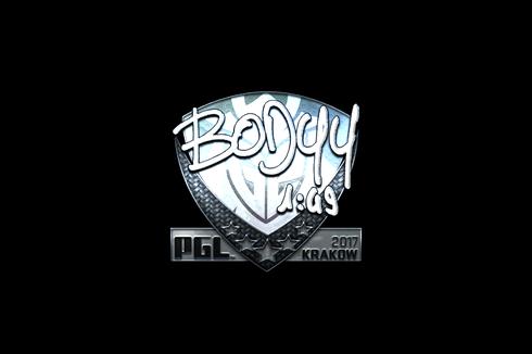 Sticker | bodyy (Foil) | Krakow 2017 Prices