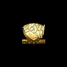 Sticker | bodyy (Gold) | Krakow 2017