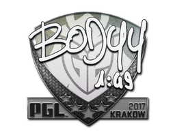 Sticker | bodyy | Krakow 2017