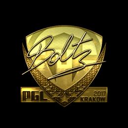 boltz (Gold) | Krakow 2017