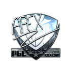 Sticker | apEX (Foil) | Krakow 2017