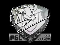 Наклейка | apEX | Краков 2017