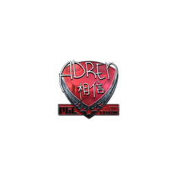 Sticker | AdreN (Foil) | Krakow 2017