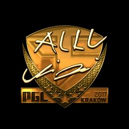 allu (Gold) | Krakow 2017