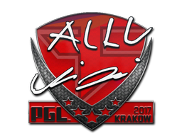 Sticker | allu | Krakow 2017