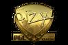 Sticker   aizy (Gold)   Krakow 2017