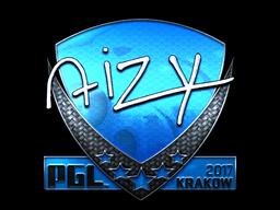 Sticker | aizy (Foil) | Krakow 2017
