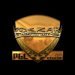 oskar (Gold) | Krakow 2017