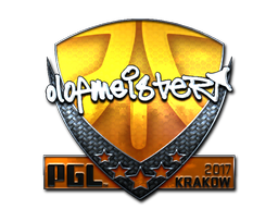 Sticker   olofmeister (Foil)   Krakow 2017