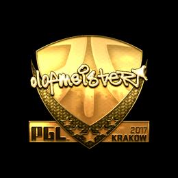 olofmeister (Gold) | Krakow 2017