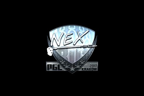 Sticker | nex (Foil) | Krakow 2017 Prices