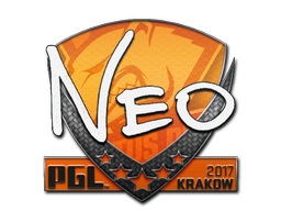 Наклейка | NEO | Краков 2017