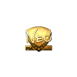 Sticker | NEO (Gold) | Krakow 2017
