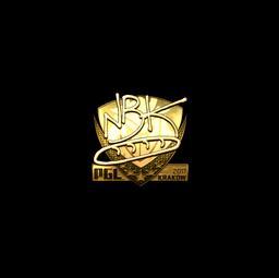 Sticker   NBK- (Gold)   Krakow 2017
