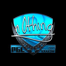 n0thing (Foil) | Krakow 2017