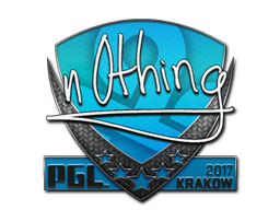 Sticker | n0thing | Krakow 2017