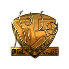 Sticker | NiKo (Gold) | Krakow 2017