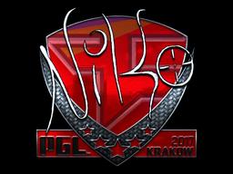 Sticker   NiKo (Foil)   Krakow 2017