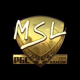 MSL (Gold) | Krakow 2017