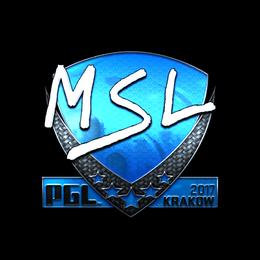 MSL (Foil) | Krakow 2017