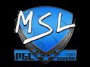 Sticker   MSL   Krakow 2017