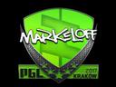 Sticker | markeloff | Krakow 2017