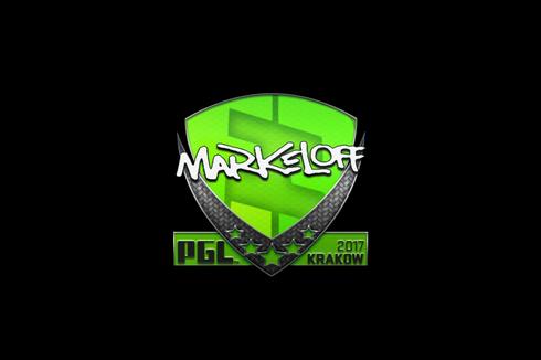 Sticker   markeloff   Krakow 2017 Prices