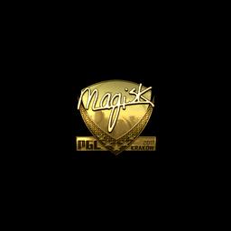 Sticker   Magisk (Gold)   Krakow 2017