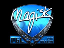 Sticker | Magisk (Foil) | Krakow 2017