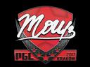 Sticker | mou | Krakow 2017