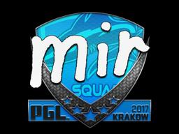 Sticker | mir | Krakow 2017