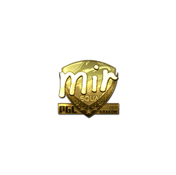 Sticker | mir (Gold) | Krakow 2017