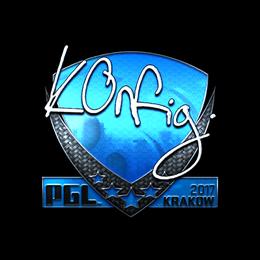 k0nfig (Foil) | Krakow 2017