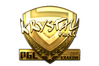 Sticker | kRYSTAL (Gold) | Krakow 2017