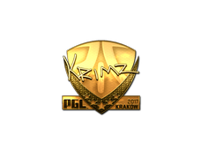 Skin Sticker | KRIMZ (Gold) | Krakow 2017