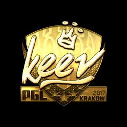 keev (Gold) | Krakow 2017