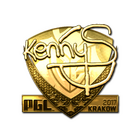 Sticker | kennyS (Gold) | Krakow 2017