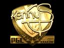 印花   kennyS(金色)  2017年克拉科夫锦标赛