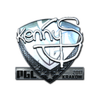 Sticker | kennyS (Foil) | Krakow 2017