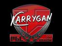 Sticker | karrigan | Krakow 2017