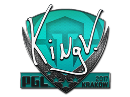 Sticker | kNgV- | Krakow 2017