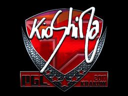 Sticker | kioShiMa (Foil) | Krakow 2017