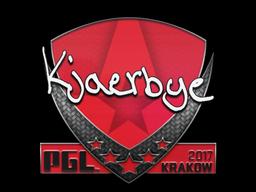 Sticker | Kjaerbye | Krakow 2017