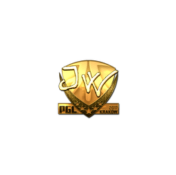 Sticker | JW (Gold) | Krakow 2017