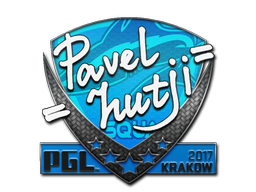 Sticker | hutji | Krakow 2017