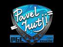 Sticker | hutji | Krakow 2017