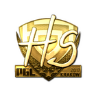 Sticker | HS (Gold) | Krakow 2017