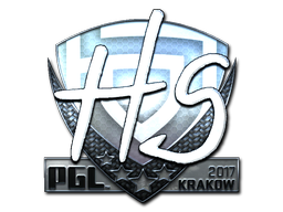 Sticker | HS (Foil) | Krakow 2017